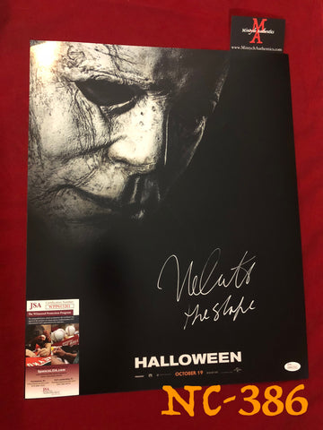 NC_386 - 16x20 Photo Autographed By Nick Castle