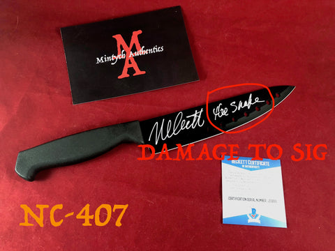 NC_407 - Knife Autographed By Nick Castle