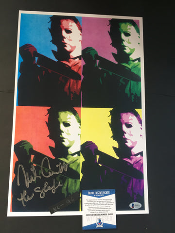 NC_96 - 11x17 photo Autographed By Nick Castle