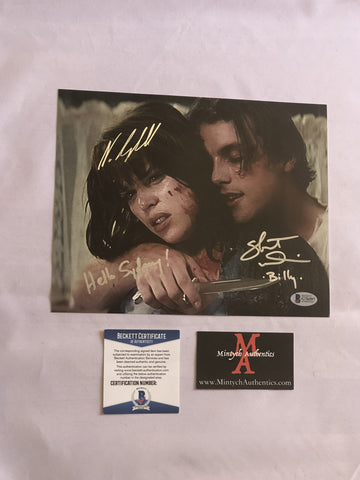 NCSU_05 - 8x10 Photo Autographed By Neve Campbell & Skeet Ulrich