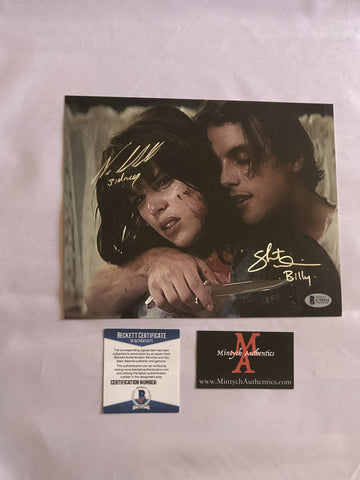 NCSU_06 - 8x10 Photo Autographed By Neve Campbell & Skeet Ulrich