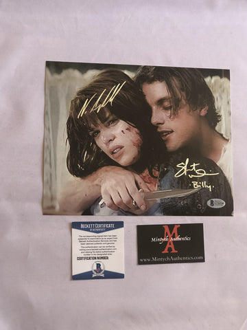 NCSU_11 - 8x10 Photo Autographed By Neve Campbell & Skeet Ulrich