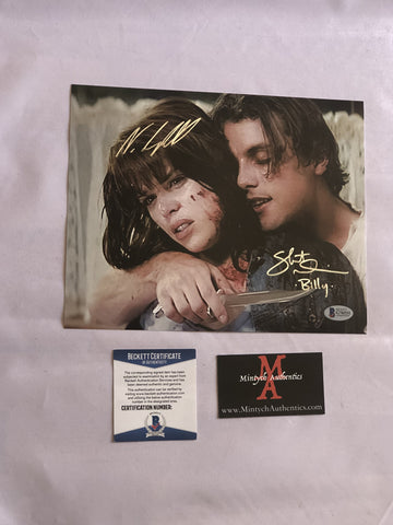 NCSU_12 - 8x10 Photo Autographed By Neve Campbell & Skeet Ulrich