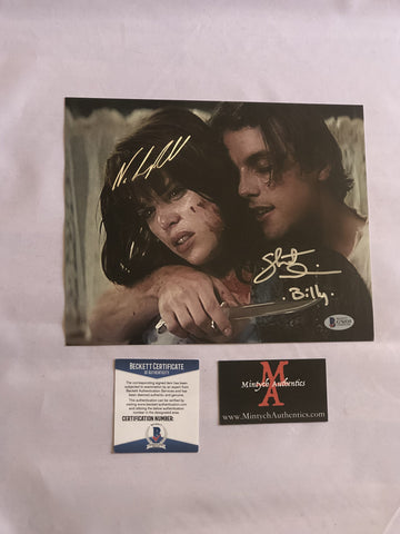 NCSU_15 - 8x10 Photo Autographed By Neve Campbell & Skeet Ulrich