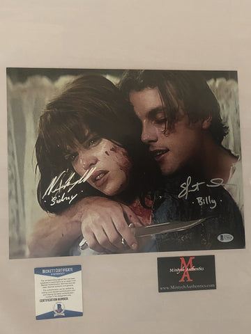 NCSU_17 - 11x14 Photo Autographed By Neve Campbell & Skeet Ulrich