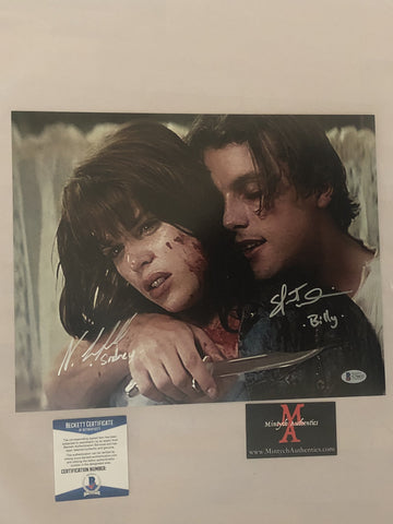 NCSU_20 - 11x14 Photo Autographed By Neve Campbell & Skeet Ulrich