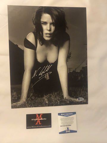 NEVE_109 - 11x14 Photo Autographed By Neve Campbell