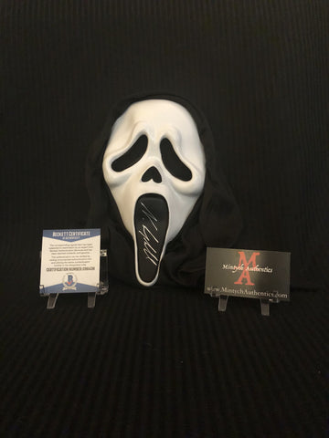 NEVE_20 - Ghostface Mask Autographed By Neve Campbell