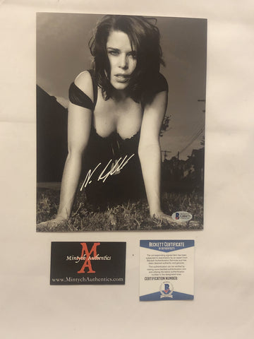 NEVE_74 - 8x10 Photo Autographed By Neve Campbell