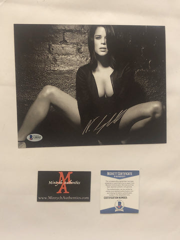 NEVE_81 - 8x10 Photo Autographed By Neve Campbell