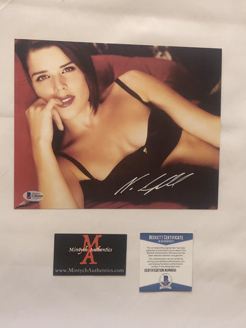 NEVE_84 - 8x10 Photo Autographed By Neve Campbell