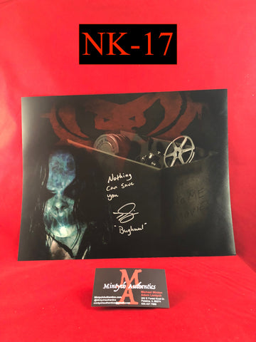NK_17 - 11x14 Photo Autographed By Nick King