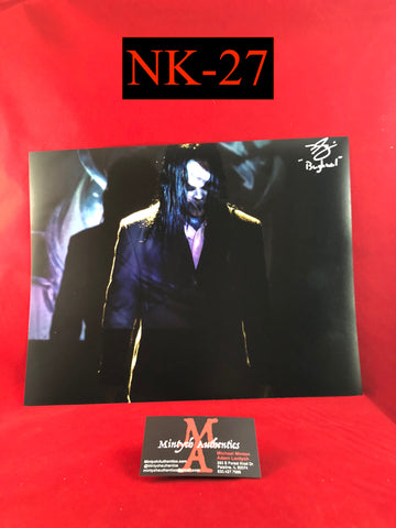NK_27 - 11x14 Photo Autographed By Nick King
