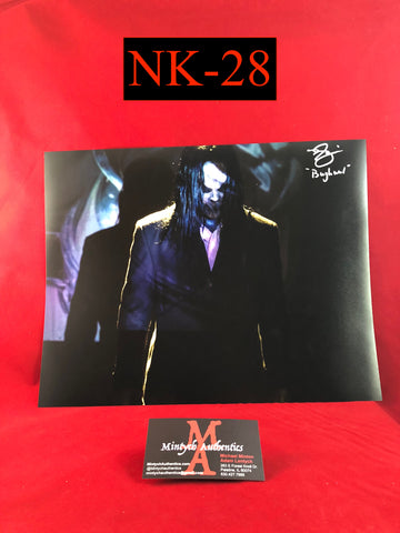 NK_28 - 11x14 Photo Autographed By Nick King