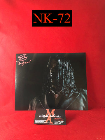 NK_72 - 8x10 Photo Autographed By Nick King