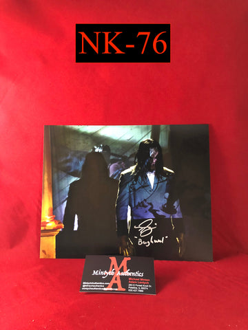 NK_76 - 8x10 Photo Autographed By Nick King
