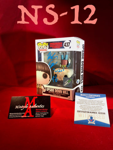 NS_12 - Upside Down Will Funko Pop! Autographed By Noah Schnapp