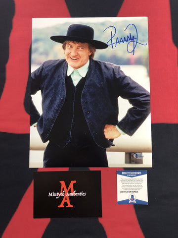 QUAID_109 - 11x14 Photo Autographed By Randy Quaid