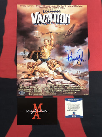 QUAID_117 - 11x14 Photo Autographed By Randy Quaid