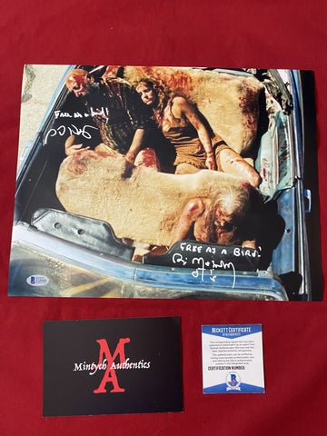 REJECTS_007 - 11x14 Photo Autographed By Sid Haig & Bill Moseley