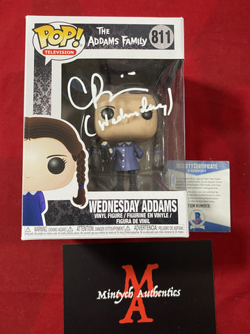 RICCI_151 - Wednesday Addams 811 Funko Pop! Autographed By Christina Ricci