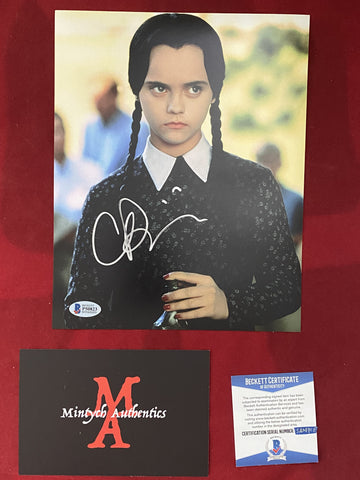 RICCI_168 - 8x10 Photo Autographed By Christina Ricci