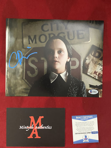 RICCI_172 - 8x10 Photo Autographed By Christina Ricci