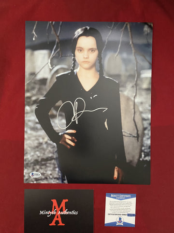 RICCI_209 - 11x14 Photo Autographed By Christina Ricci