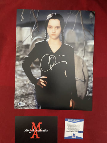 RICCI_210 - 11x14 Photo Autographed By Christina Ricci