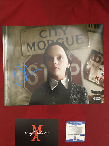 RICCI_216 - 11x14 Photo Autographed By Christina Ricci