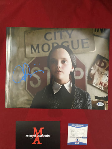 RICCI_217 - 11x14 Photo Autographed By Christina Ricci