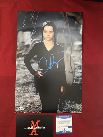 RICCI_258 - 11x17 Photo Autographed By Christina Ricci