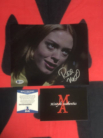 ROSE_073 - 8x10 Photo Autographed By Rose McGowan