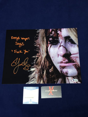 SCOUT_081 - 11x14 Photo Autographed By Scout Taylor-Compton