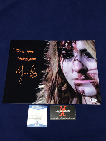 SCOUT_082 - 11x14 Photo Autographed By Scout Taylor-Compton