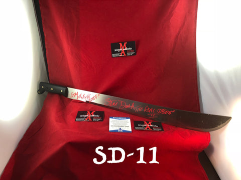 "SD_11 -  22"" Steel Machete Autographed By Steve Dash"