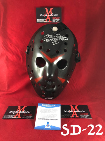 SD_22 -  Black Mask Autographed By Steve Dash