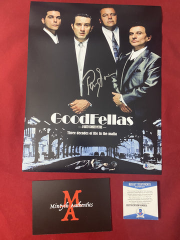 SORVINO_026 - 11x14 Photo Autographed By Paul Sorvino