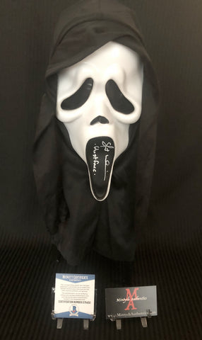 SU_30 - Ghostface Mask Autographed By Skeet Ulrich