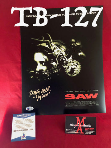 TB_127 11x14 Photo Autographed By Tobin Bell