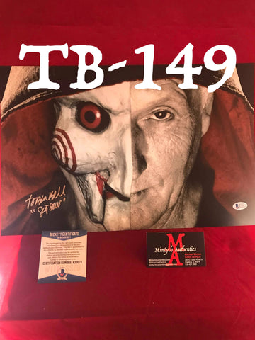 TB_149 11x17 Photo Autographed By Tobin Bell