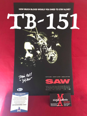 TB_151 11x17 Photo Autographed By Tobin Bell