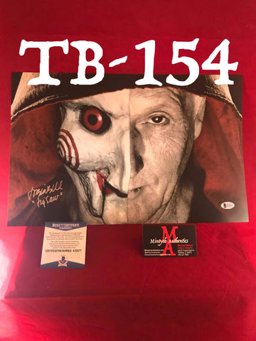 TB_154 11x17 Photo Autographed By Tobin Bell