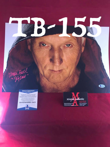 TB_155 11x17 Photo Autographed By Tobin Bell