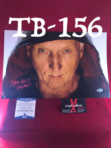 TB_156 11x17 Photo Autographed By Tobin Bell