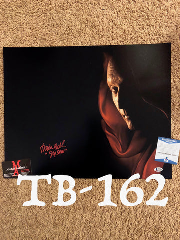 TB_162 16x20 Photo Autographed By Tobin Bell
