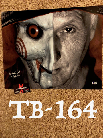 TB_164 16x20 Photo Autographed By Tobin Bell