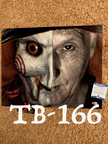 TB_166 16x20 Photo Autographed By Tobin Bell