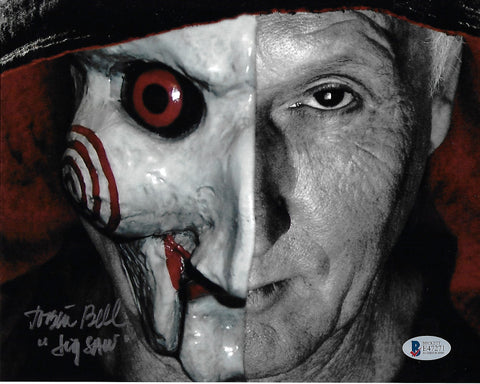 TB_176 - 8x10 Photo Autographed By Tobin Bell