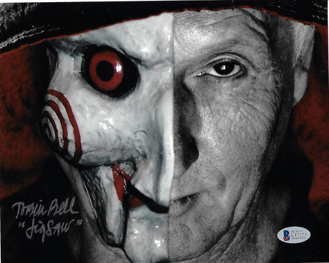 TB_177 - 8x10 Photo Autographed By Tobin Bell